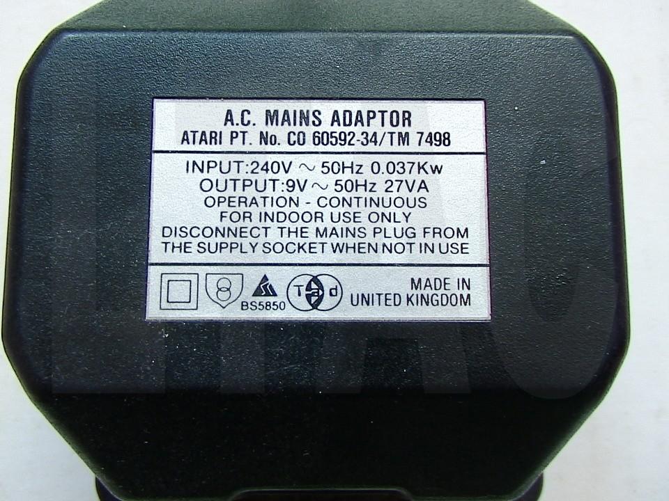Europe ACAC Adapter Type FW6699 Input