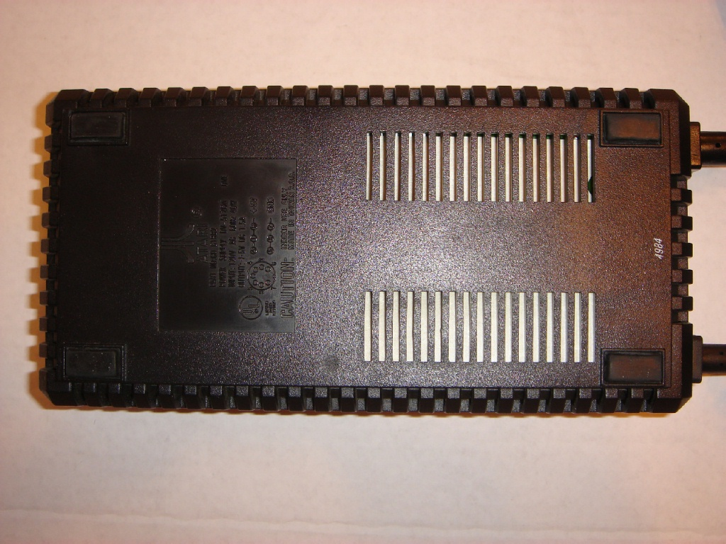 Atari 8 Bit Computers Frequently Asked Questions Complete Vintage 1977 Avalon Speed Circuit Board Game 600xl 800xl Or Logo Power Supply Ul Listed 94h6 Made In Taiwan Type Dv 512cm Input 120v Ac 60hz 40w Output 5v Dc 15a Shipped With